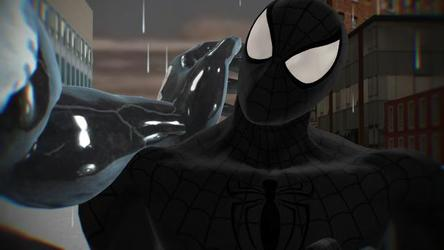 Mike parker symbiote Spiderman and venom Symbiote love part 2
