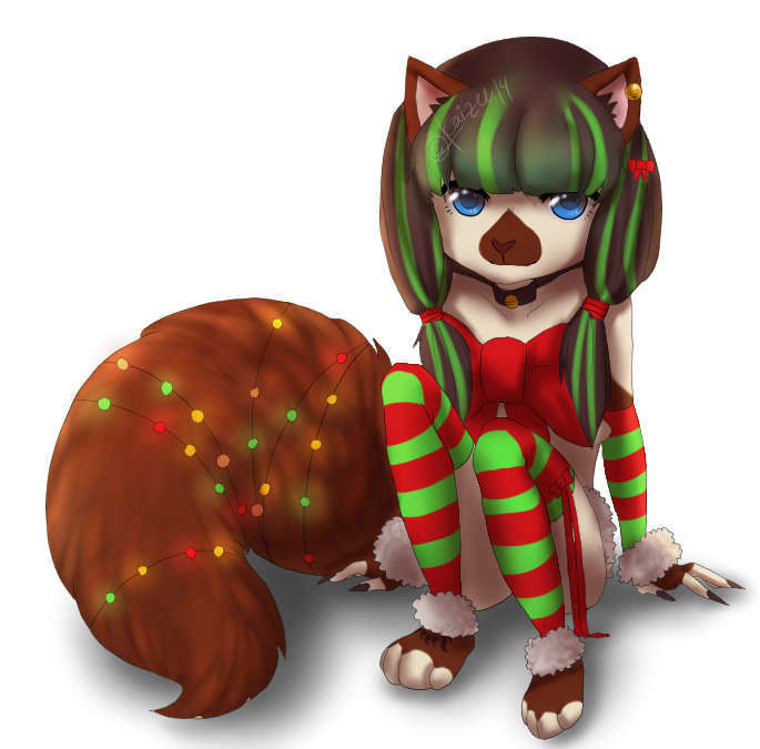 All I Want For Christmas (Chibi Comm)