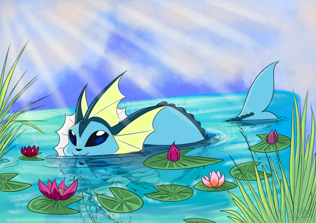 Most recent image: Vaporeon in Spring