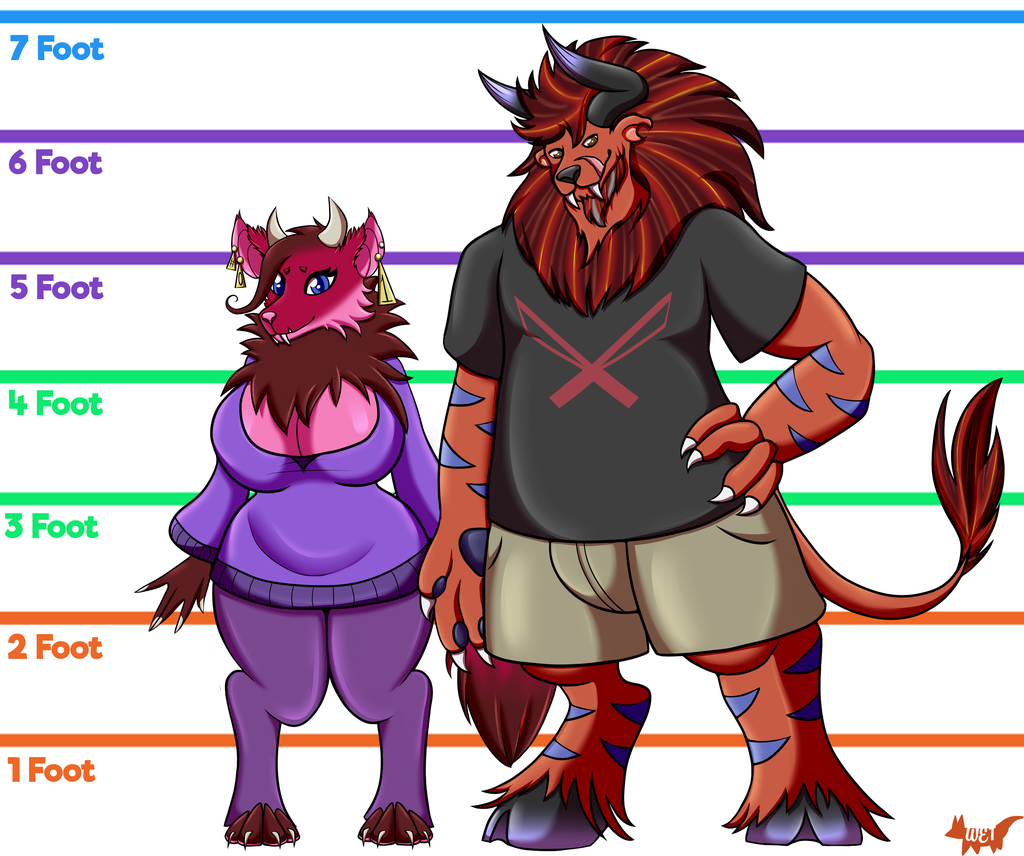 Furry Partners Height