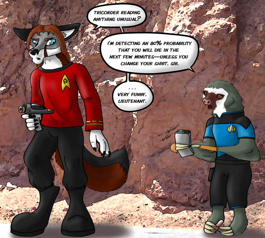 Redshirt joke