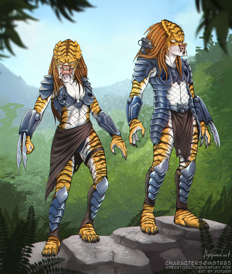 "Halloween Commission ""Predators"""