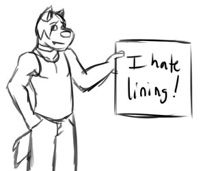 I Hate Lining
