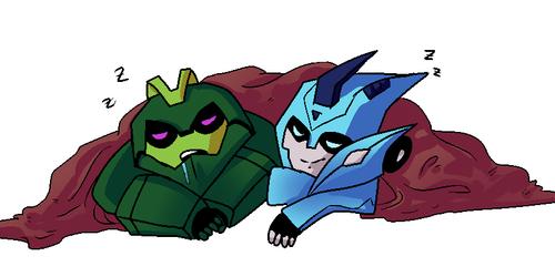TFA: Wasp and Blurr