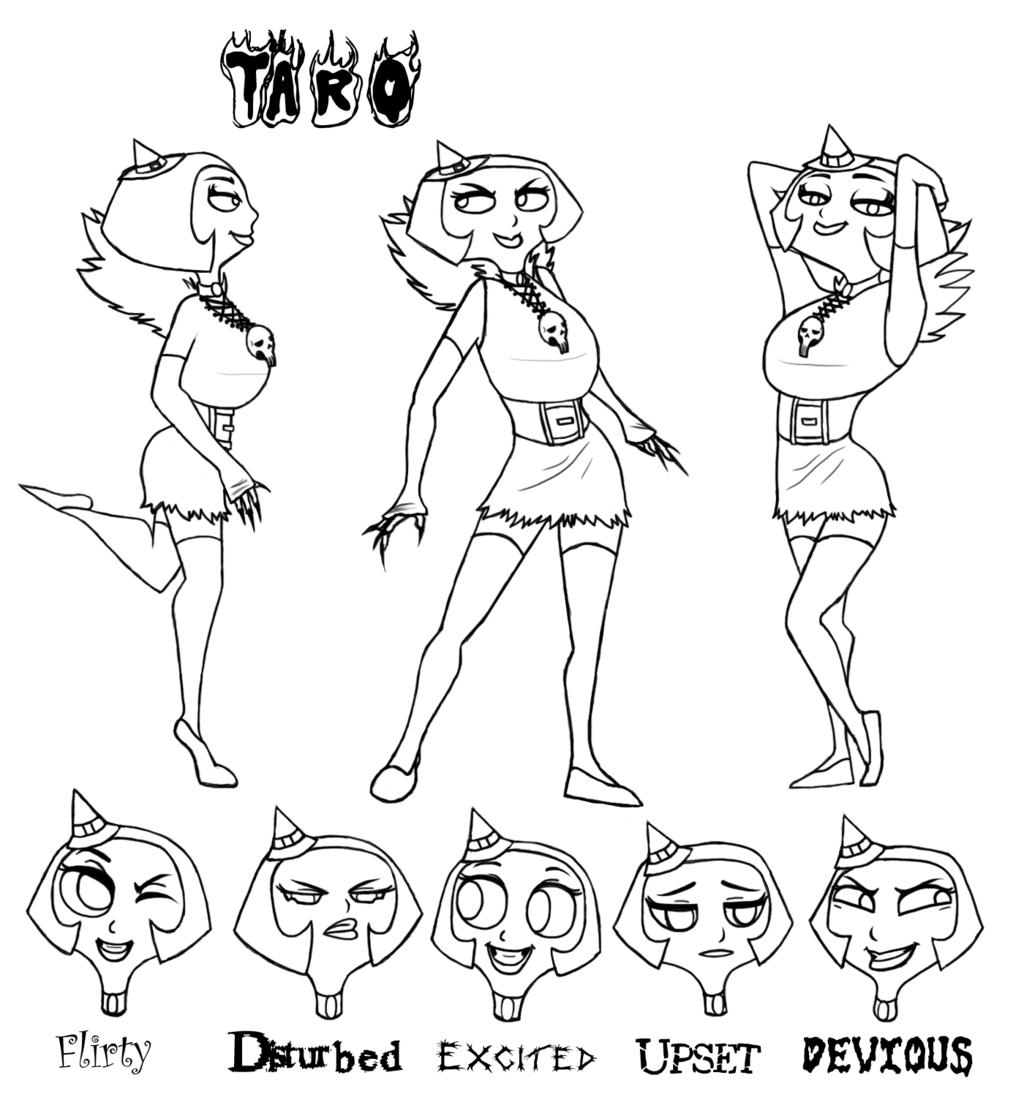 Taro - Three pose - Five expression - ILLUS1