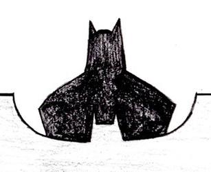 Batman Silhouette and Logo