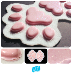 HANDPADS: Pearlescent pink