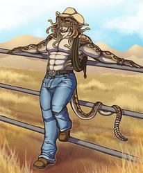 He didn't choose the cowboy life it chose him.