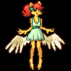 dress-charlie pixel art