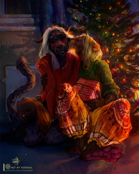 Christmas Joy - by Fossa666