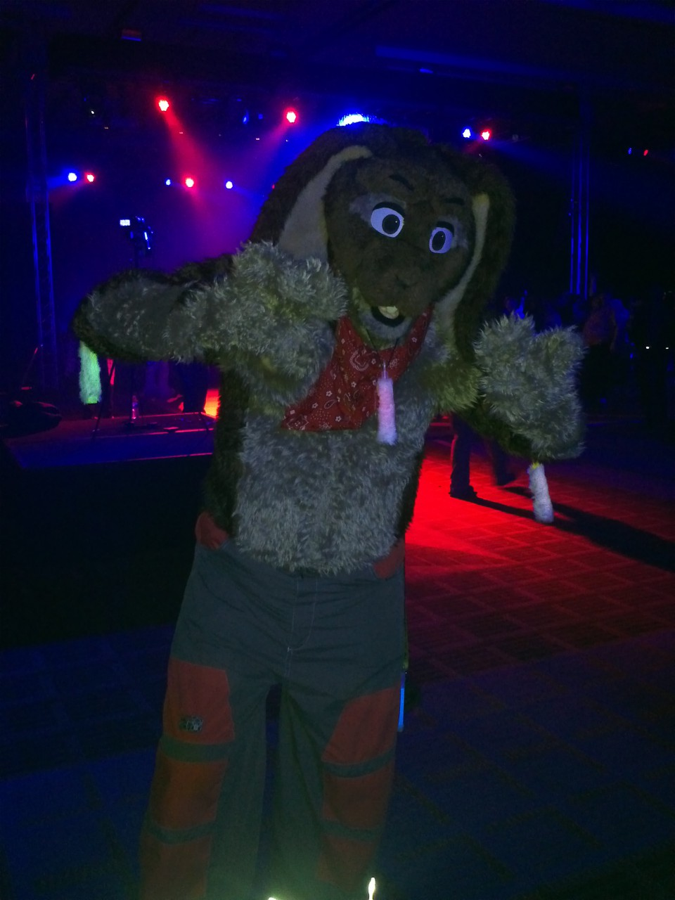 Most recent image: FUZZY GLOWSTICKS at MFF!