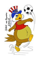 Sam the Olympic Eagle Color