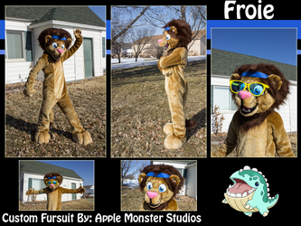 Froie the Disco Lion