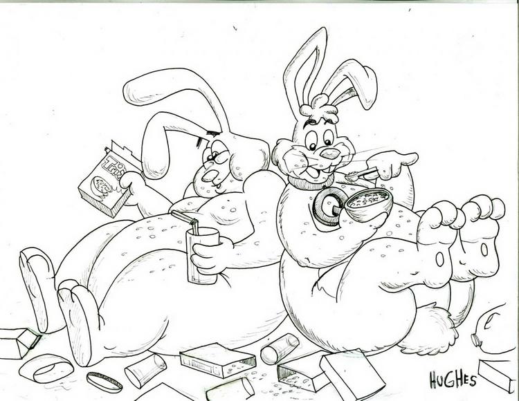 Quik bunny & Trix Bunny Binge time!