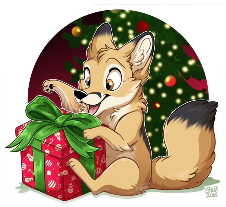 Christmas Chibi by Etuix