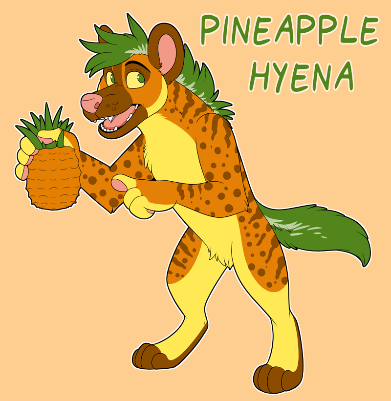 Pineapple Hyena Adopt