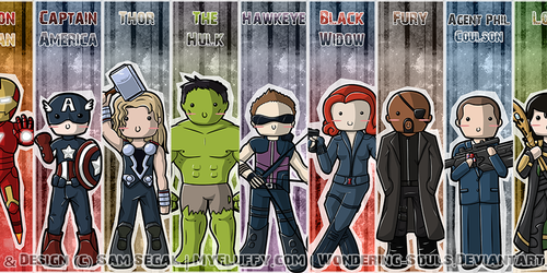 Avengers: Bookmarks Assembled