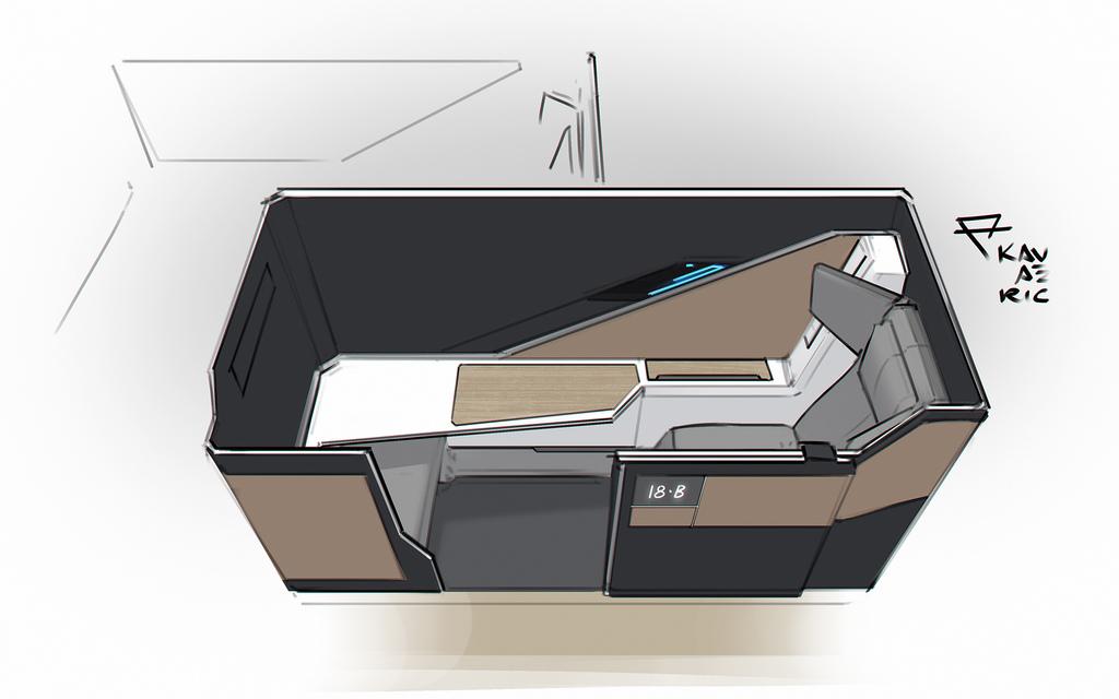 Aetherliner seating