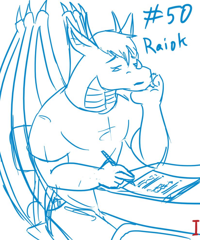 Raiok - Homework is Boring...