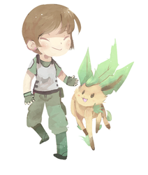 becky n leafeon