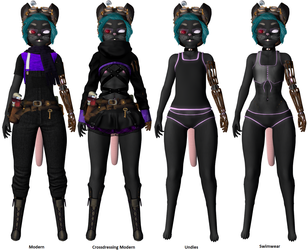 My Mouse Character - Other Outfits