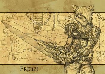 Frenzy Fantasy Armor Commision