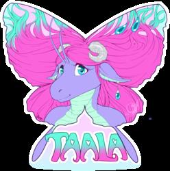 Taala Butterfly Shape Badge