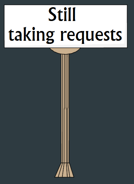 Most recent image: Still taking requests