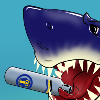 Shark Boss (Shark Week fan art)