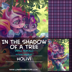 In the Shadow of a Tree by Holivi