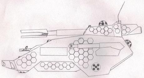 "DE ""Vulcan II (MT)"" Medium Tank"