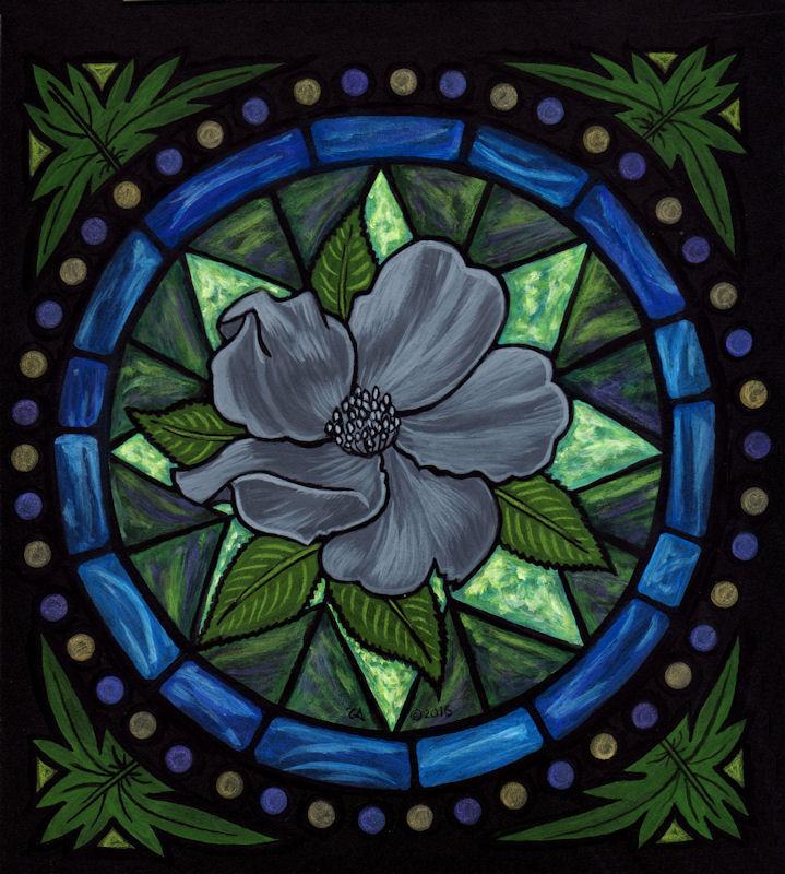 Lead Rose Window
