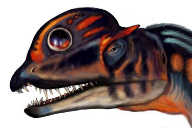 Dinovember Dilophosaurus