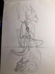 Alolan Marowak - Sketch [CM]