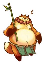 Fat Fox Monk