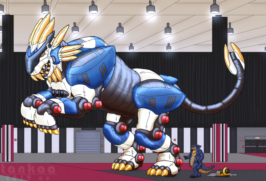 Hexasame Liger - 1:1 Scale