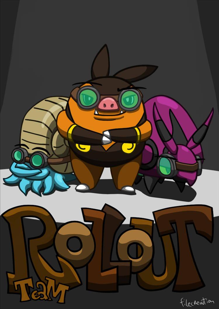 Pokemon - Team Rollout