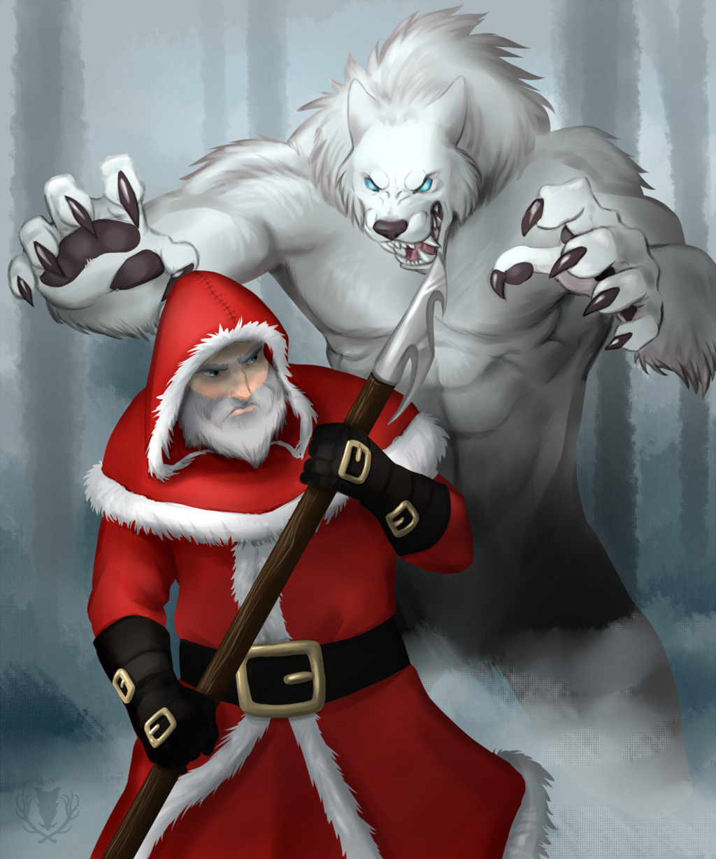 Most recent image: Santa Clause- Werewolf Hunter
