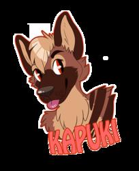 Kapucutie: badge trade