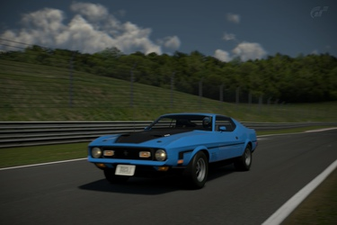 1973 Ford Mustang Mach-1 (Mustang 50 years)