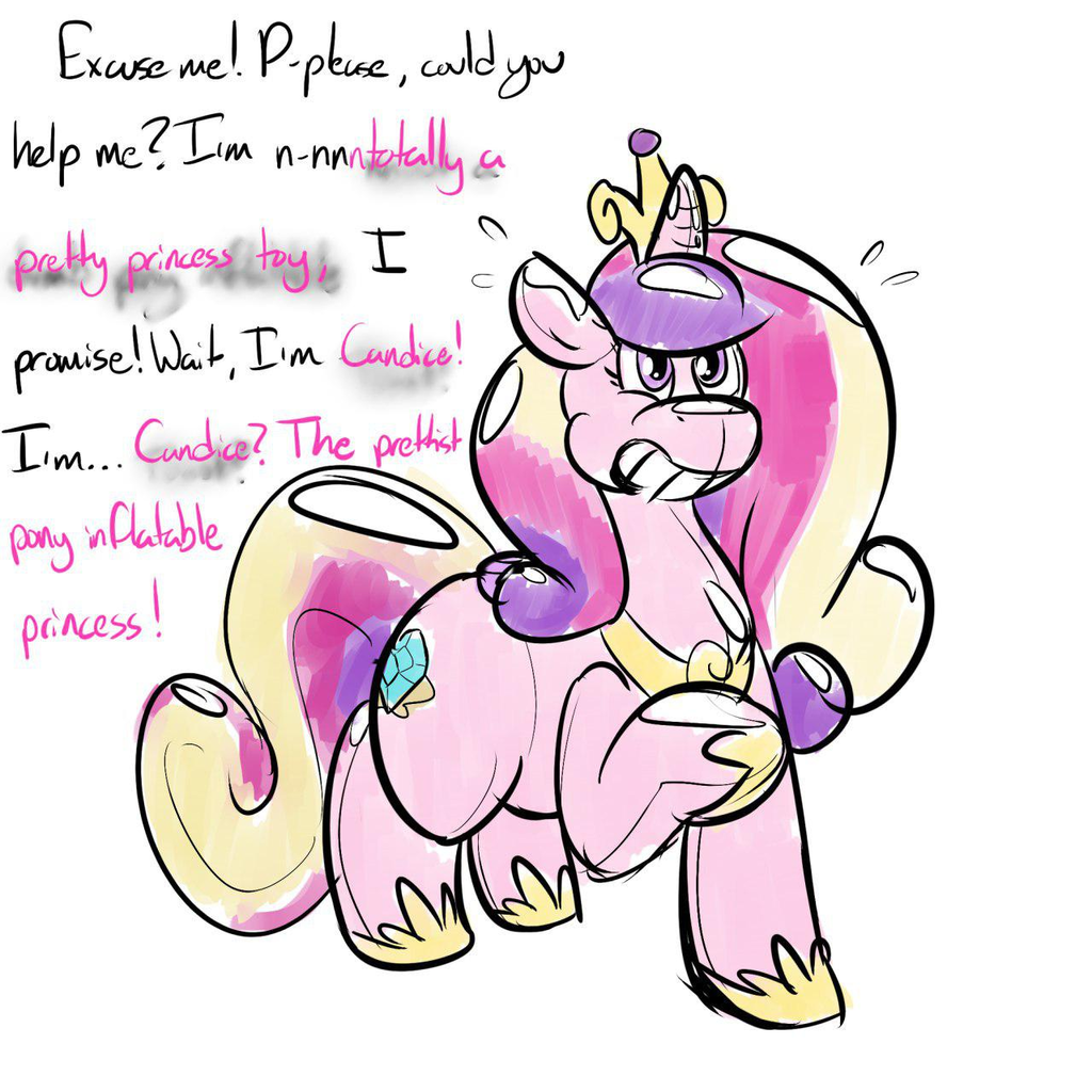 Princess Cadance Toy Curse by Scotch