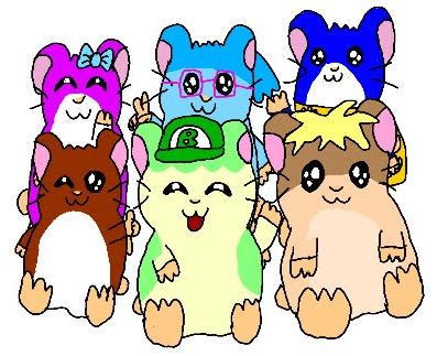 Hamster Pals Group Shot