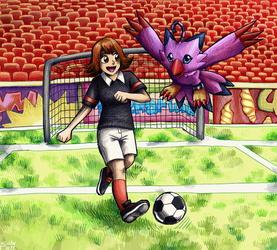 Sora and Biyomon