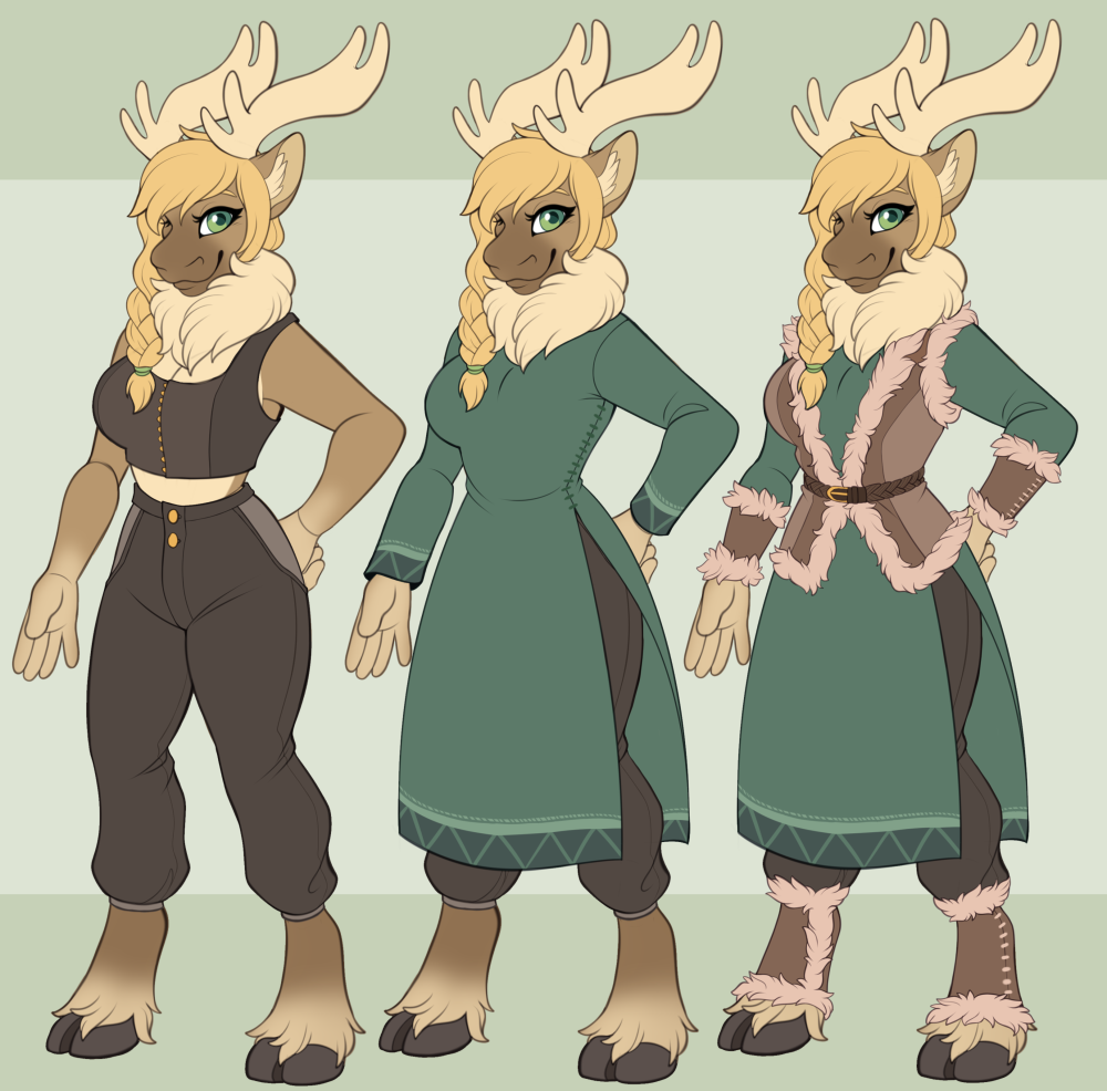 JulietSkunkButt Clothing Design - Commission