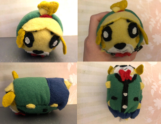 Animal Crossing Isabelle Stacking Plush For Sale