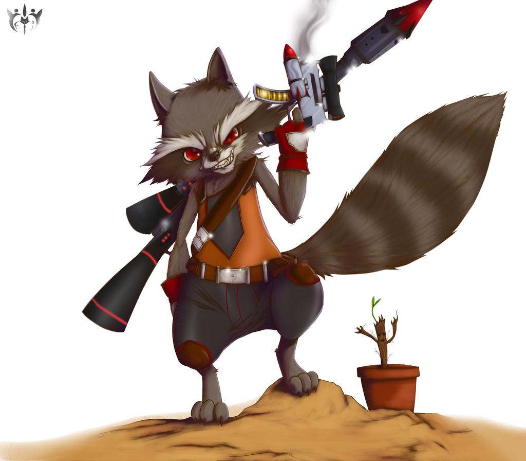 Guns Out | Rocket Raccoon