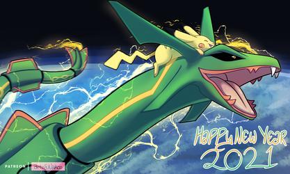 Happy New Year #SpaceSunrise