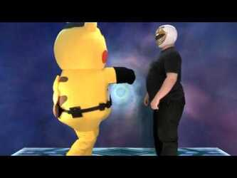 Mascot Fursuiting: Ace Spade the Pikachu vs That Weird Power Ranger