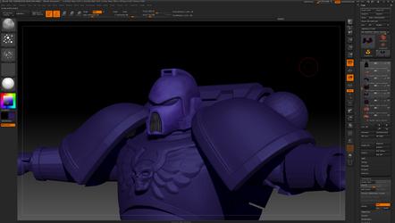 ultramarine base texture progress