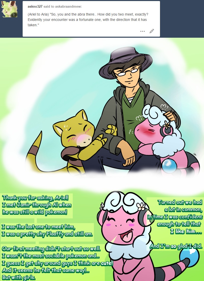 Ask Abra and Mew question #120